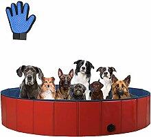 Sehrgo Hundpool 160cm Schwimmbecken hundebadewanne