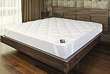 Sei Design ® extra-weiches Premium Matratzenschoner 90x200 cm. Durch doppelte Polsterung ist das Unterbett extra soft und atmungsaktiv - perfekter Schutz für mehr Hygiene und Schlafkomfort. Mikrofaser-Auflage auch für für Boxspring- und Wasserbetten geeignet.