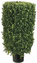 Seide Decor 30Rechteck, Buchsbaum Formschnitt