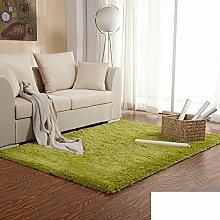 Seide Haar Verdickung Teppich/ Schlafzimmer Wohnzimmerteppich/ Bett voller Teppich-A 80x161cm(31x63inch)