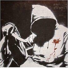 Seidenmatte Fototapete Graffiti Ghetto