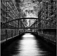 Seidenmatte Fototapete Hamburg's Other Side