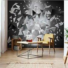 Seidenmatte Fototapete Modern 3D Design Polygon