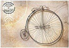 Seidenmatte Fototapete Vintage Bicycle East Urban