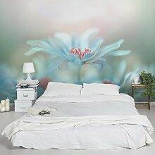 Seidenmatte Fototapete Zierliche Blumen