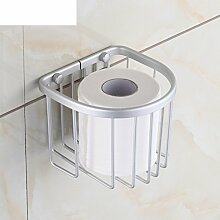 Seidenpapier Korb,Aluminium Seidenpapier Platzhalter,Wc-fach,Bad Kleenexbox,Regal Papierhalter
