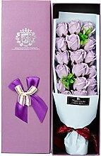 Seife Rose duftenden Blumenstrauß in Geschenkbox