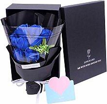 Seife Rose Duftender Blumenstrauß In Geschenkbox