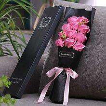 Seifen-Rosen-Blumenstrauß Muttertag Valentinstag