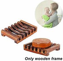 Seifenhalter aus Holz, handgefertigte