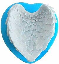 Seifenprofis® Schöne Flügel Engel Silikon Form