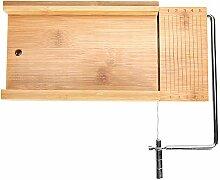 Seifenschneider, 1 Stück Bambusseifenschneider