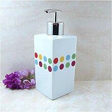 Seifenspender/Keramik Europäischen Lotion Flasche