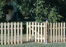 Seifil Holztor für einen klassischen Zaun,