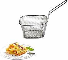 Seiher Mini Chef faltbare Fry Basket Dampf Rinse