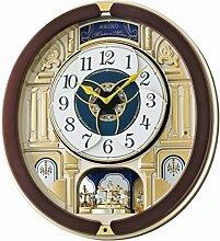 Seiko Clocks QXM356B Wanduhr Motion
