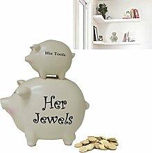 Seine Werkzeuge und ihre Jewels 'weiß