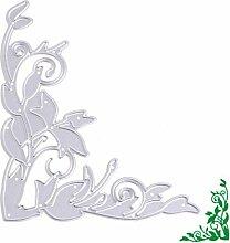 Seite Blätter Formen Schablonen DIY Scrapbooking
