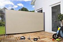 Seitenmarkise 'Pro' Sichtschutz Sonnenschutz Windschutz verschiedene Größen und Farben