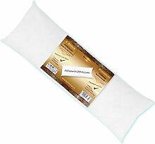 Seitenschläfer Kissenfüllung Körperkissen Schläferkissen, weich und anschmiegsam für einen bequemen Schlafkomfort (ca. 40x120cm / Premium)
