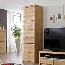 Seitenschrank aus Wildeiche Massivholz modern