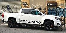 Seitenstreifen Aufkleber kompatibel mit Chevrolet