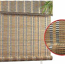 Seitenzug- & Springrollos Bambusvorhang Drinnen
