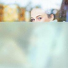 Selbsklebende Fensterfolie - Sichtschutzfolie in Minzgrün - Glasdekorfolie selbstklebend Milchglasfolie 5 Farben Fensterfolie Klebefolie Glasdekorfolie Sichtschutz Blickschutz Milchglas Fenster Bad Größe: 200cm x 123cm