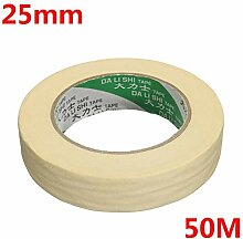Selbstklebeband Rolle Beige Masking Tape Druck