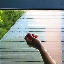 Selbstklebend Fensterfolie Streifen folie Anti-UV