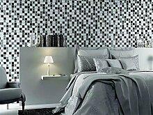 Selbstklebend,Fliesen-Aufkleber, Mosaikeffekt, 3D-Gel, als Spritzschutz, für Küche/Bad, 10 Bögen
