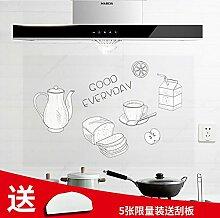 Selbstklebende Aufkleber Küche Aluminiumfolie