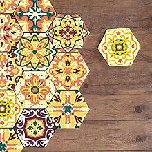 Selbstklebende Boden Wandfliesen Aufkleber für