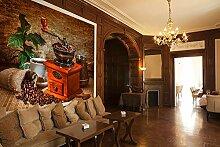 Selbstklebende Fototapete - Kaffeemühle - 150x135
