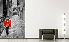 Selbstklebende Fototapete - Retro Roller - 100x150