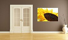 Selbstklebende Fototapete - Sonnenblume - 75x50 cm