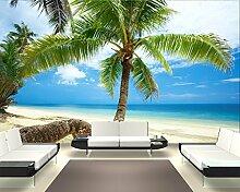 Selbstklebende Fototapete - Strand im Paradies -