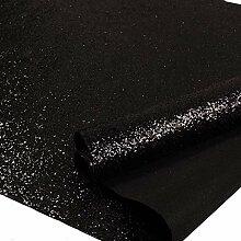Selbstklebende Glitzer-Tapete, schwarz, 44,2 x 5