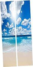 Selbstklebende Kühlschrank Aufkleber Wandbild