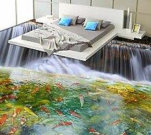 Selbstklebende Tapete 3D-Bodenbelag Moderne