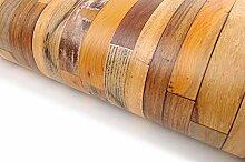 Selbstklebende Tapete aus Altholz (VBS305)