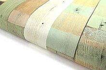 Selbstklebende Tapete aus Altholz (VBS306)