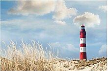 Selbstklebende Tapete - Fototapete - Leuchtturm in