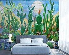 Selbstklebende Tapete Nordic Malerei Pflanze