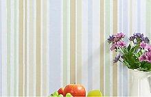 Selbstklebende Tapete Streifen Kinderzimmer Wohnzimmer Schlafzimmer selbstklebende wasserdichte starke Tapete 500 * 60cm, rosa Streifen