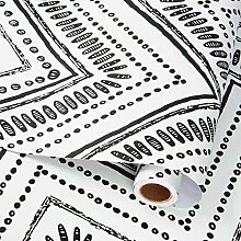 Selbstklebende Vinyl-Tapete, geometrisches Muster,