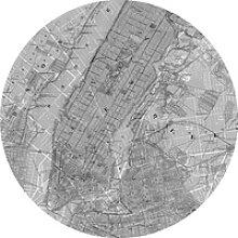 Selbstklebende Vlies Fototapete Map
