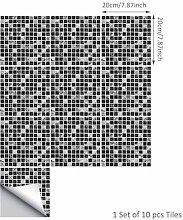Selbstklebender Mosaik-Fliesen-Aufkleber, Küche