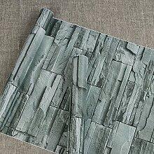 Selbstklebendes Vinyl Faux Stein Ziegel Muster Kontakt Papier dekorativen schälen und Stick Stein Tapete für Wand Dekoration 45cm von 32Füße