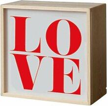 Seletti - LIGHTHINK BOX  21x21cm